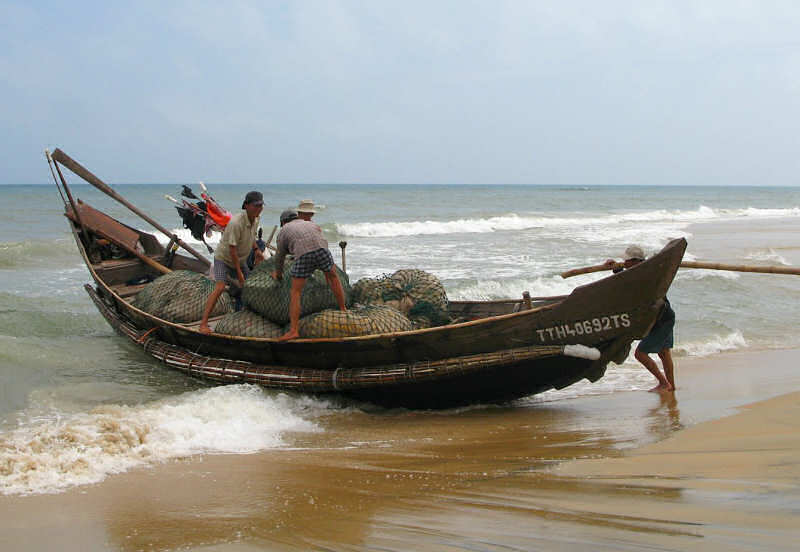 Composite Basket Boat: Thuan An Area