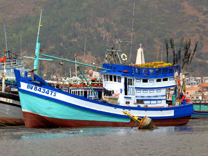 Modern Motor Fishing Vessel